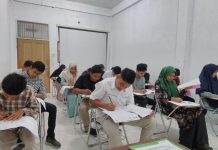 Seleksi penerimaan mahasiswa STAIN Teungku Dirundeng Meulaboh - Istimewa