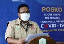 Jumlah ODP di Aceh